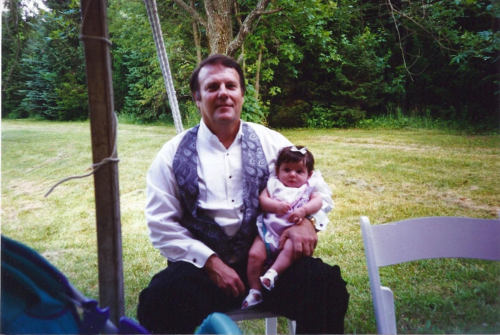 Skylar & Grandpa Don