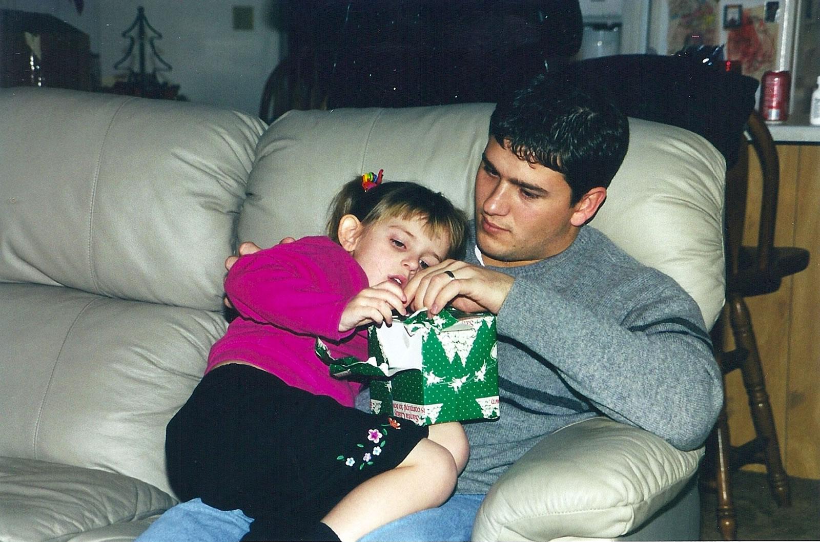 Skylar & daddy