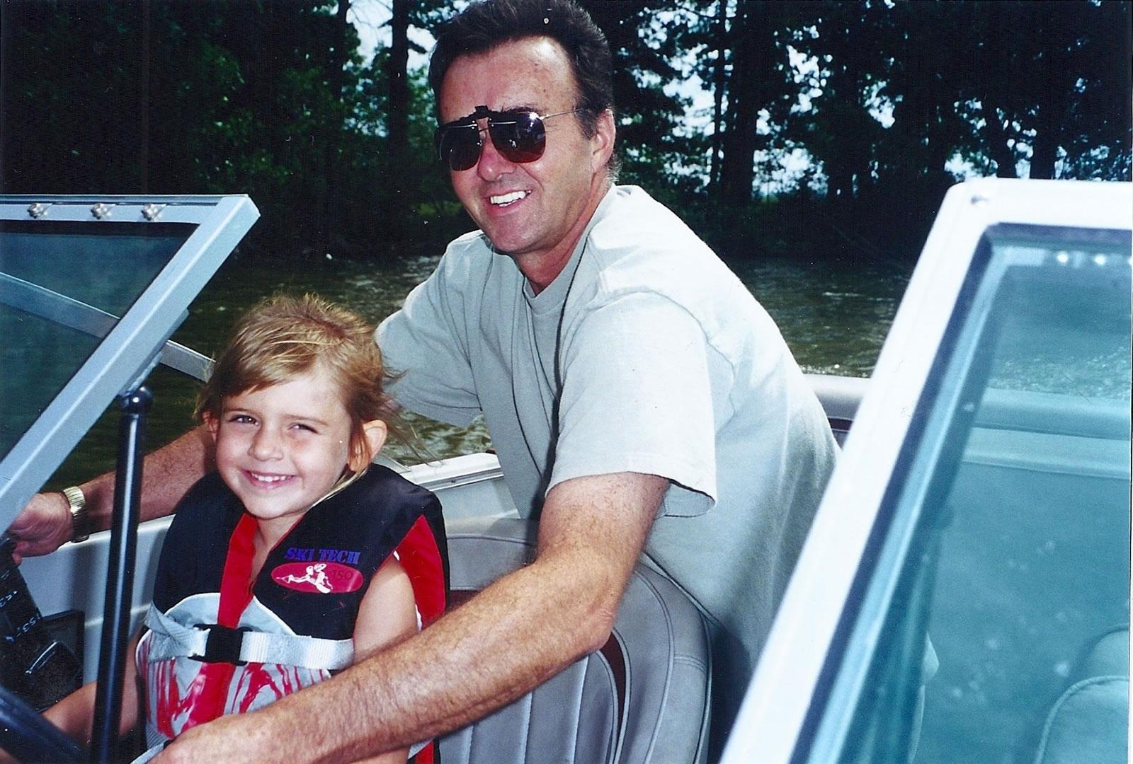 Skylar & Grandpa Woody