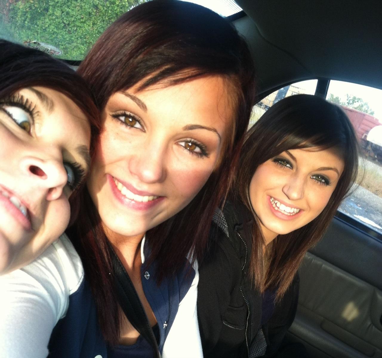 Sophie, Mackenzie and Skylar