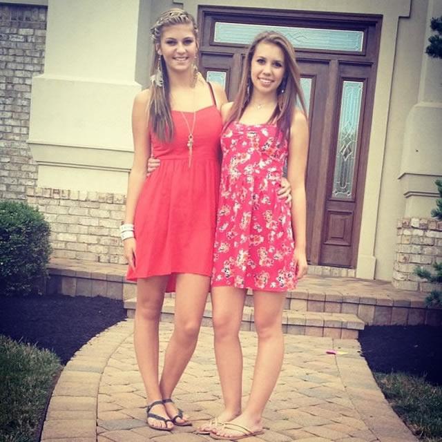 Lexy and Julianna. Bffs