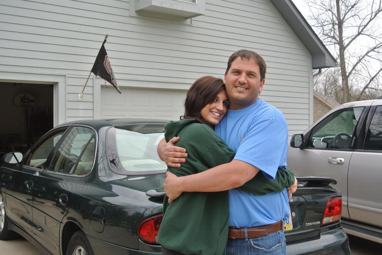 Skylar & her dad