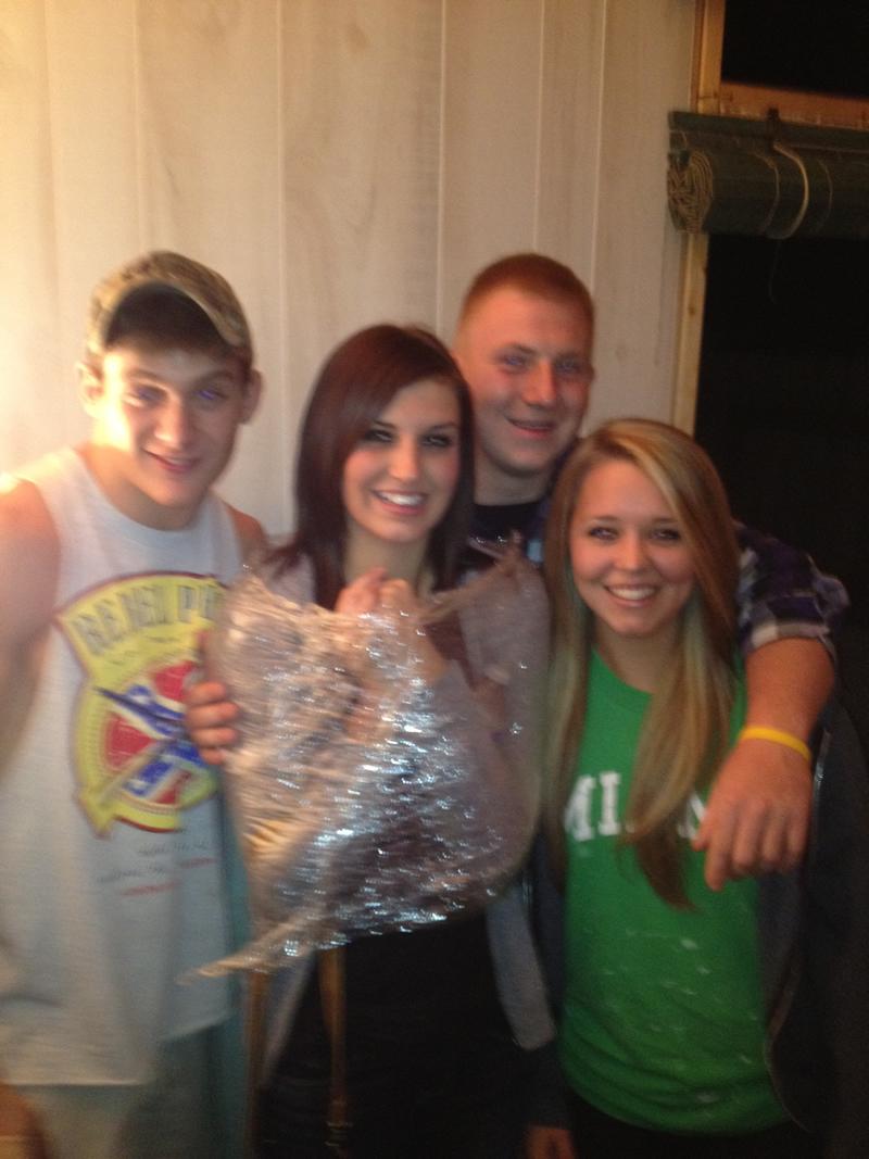 Tate, Skylar, Joe and Alana. Summer 2012